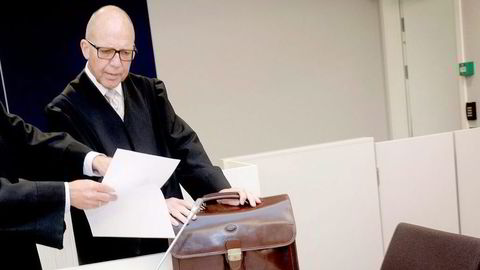 Tidligere advokat Geir Knutsen anker dommen om skatte- og momsundragelser. Foto: Elin Høyland