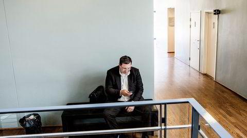Korrupsjonstiltalte Jan Vestrum ble avbrutt av dommerne en rekke ganger da han skulle forklare seg i Oslo tingrett onsdag. Foto: Fredrik Bjerknes