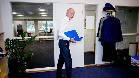 Advokat Christian Lundin regner med å beskjeftige seg med konkursene rundt Tommy Sharif neste uke også. Foto: Mikaela Berg