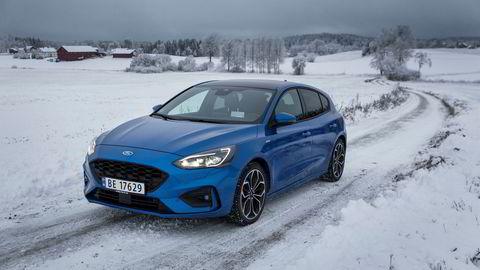 Dette er fjerde generasjon Ford Focus. En bra bil som mangler elektrifisering.