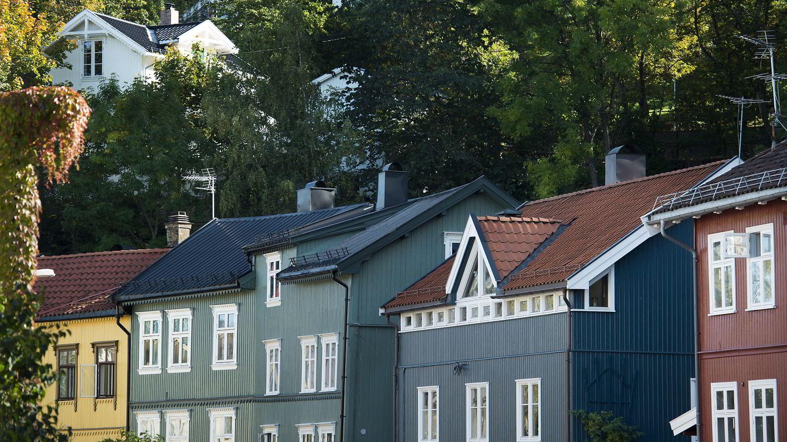 Helserisikoen øker uten trær i boligområder.