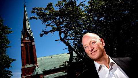 Administrerende direktør i Sparebanken Sør, Geir Bergskaug. Foto: Tomm W. Christiansen