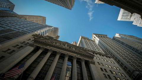 New York Stock Exchange (NYSE) i New York. Foto: NTB/Scanpix/AFP PHOTO / Bryan R. Smith