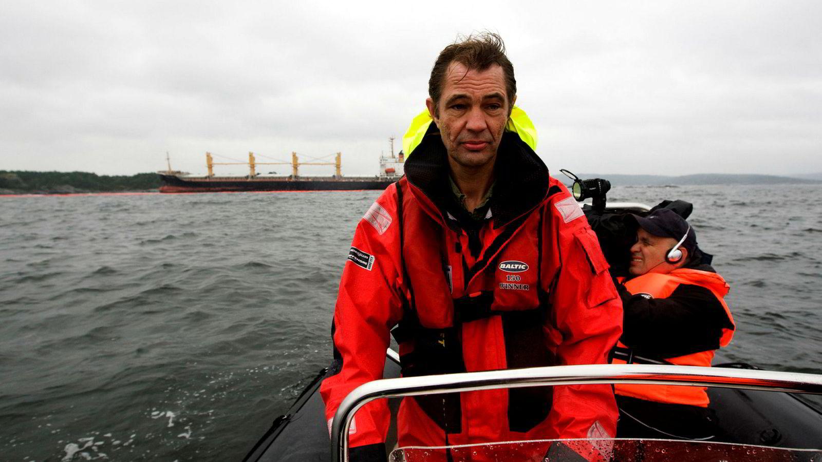 Sigurd Enge i Bellona ønsker ikke oljeboring i Trænarevet i Nordland.