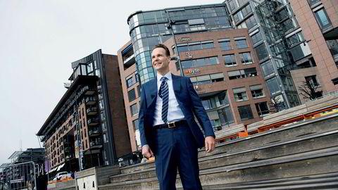 Lars Alstrup, sjef for personmarked i Danske Bank Norge, er spent på utviklingen i boligmarkedet de kommende månedene.