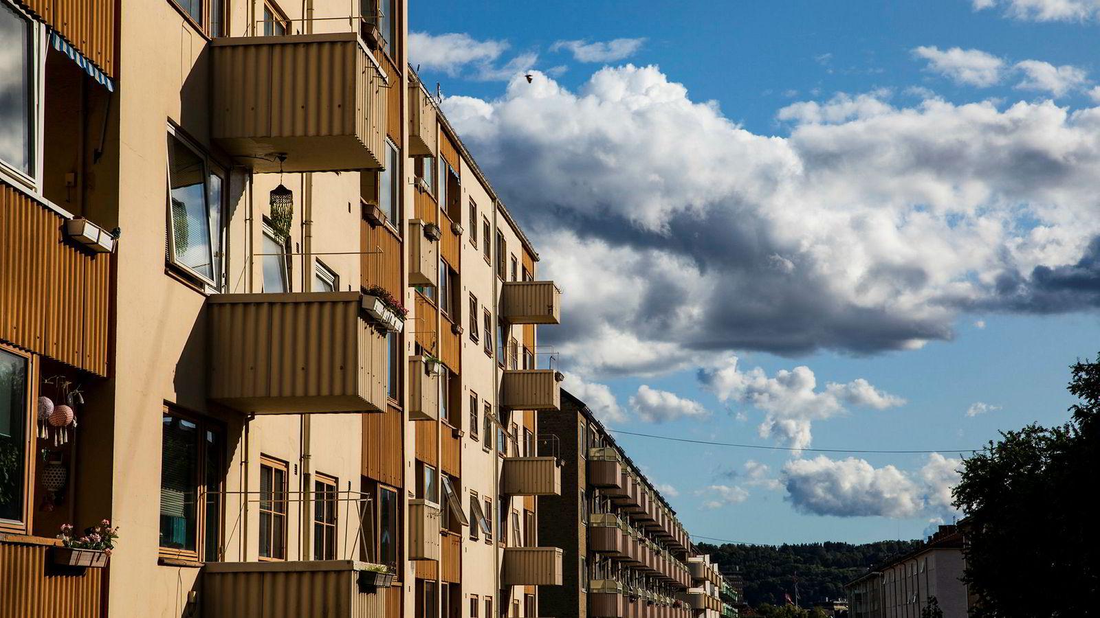 SSB venter en boligprisvekst på vel 1,5 prosent i perioden fra 2019 til 2022.