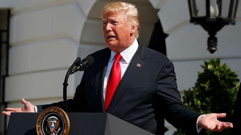 President Donald Trumps retorikk mot mediene og journalister kan være farlig, sier journalist og utgiver i New York Times, Arthur Ochs Sulzberger.