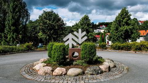 En statlig storsatsing på papirproduksjon er ikke nødvendigvis saliggjørende, skriver artikkelforfatteren. Her fra Norske Skogs fabrikk Saugbruks i Halden.