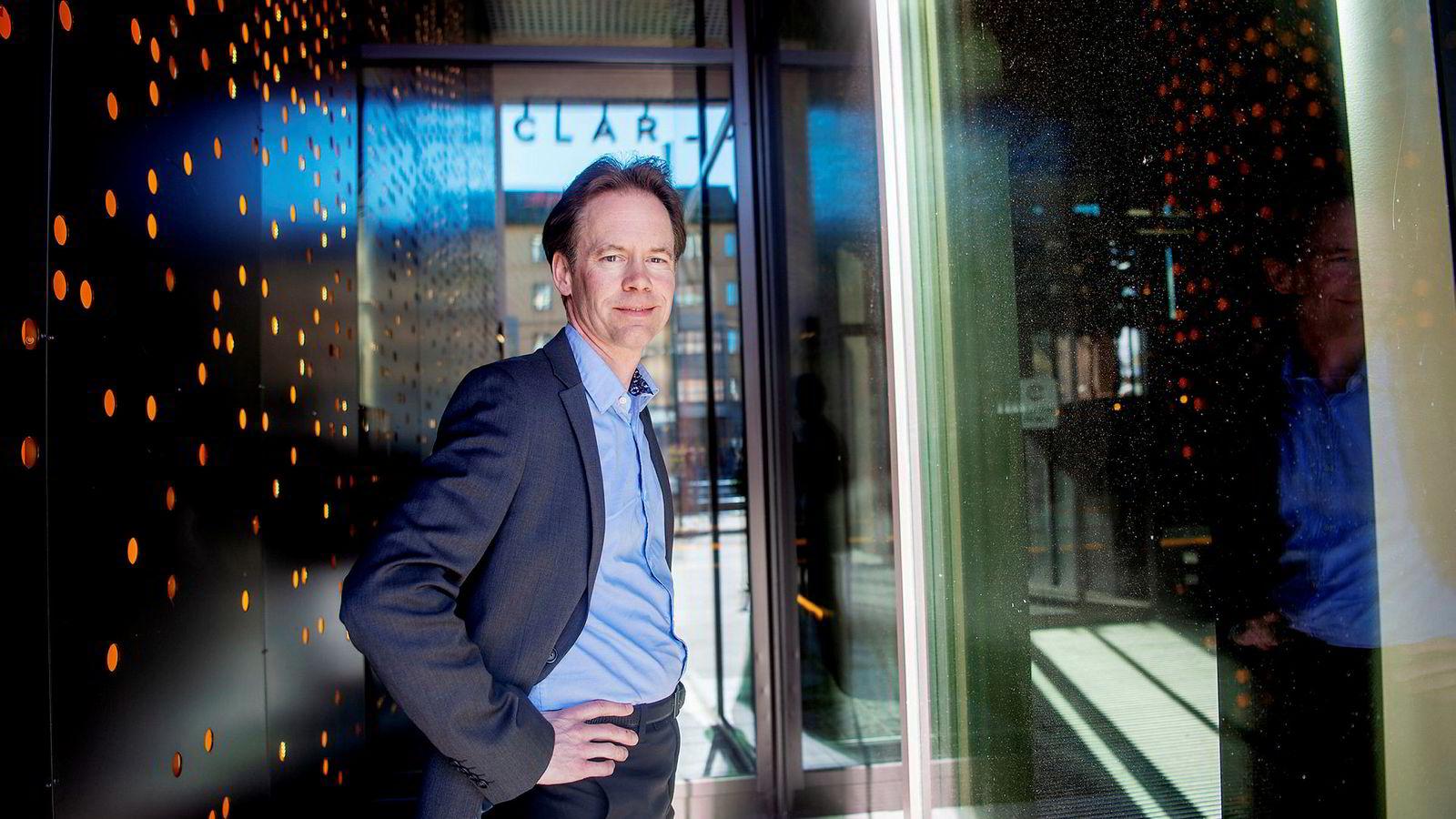Øystein Rushfeldt er direktør for det omstridte gruveselskapet Nussir. Selskapet planlegger å starte verdens første elektrifiserte kobbergruve.