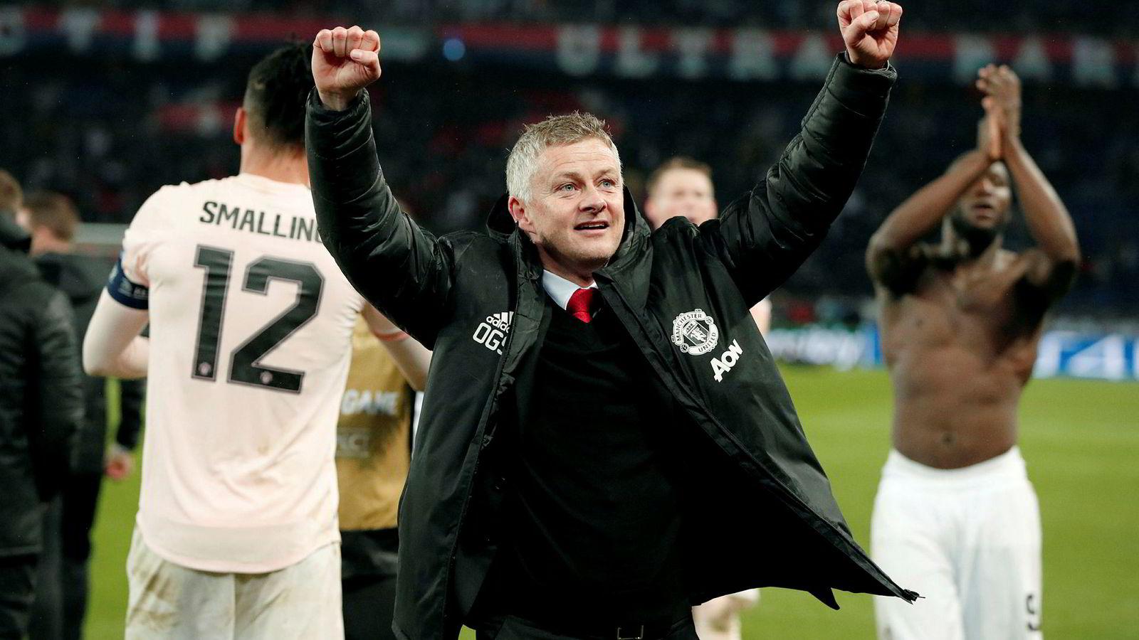 Ole Gunnar Solskjærs Manchester United slo onsdag franske PSG i Paris. Nå slår SAS til med flere direkteflyvninger til Manchester for fotballgale nordmenn.