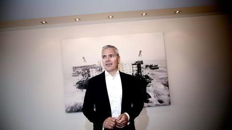 Dag Rasmussen har plassert tre milliarder i kontanter i banken fordi han er usikker på hvor han skal satse. Foto: Tomm W. Christiansen