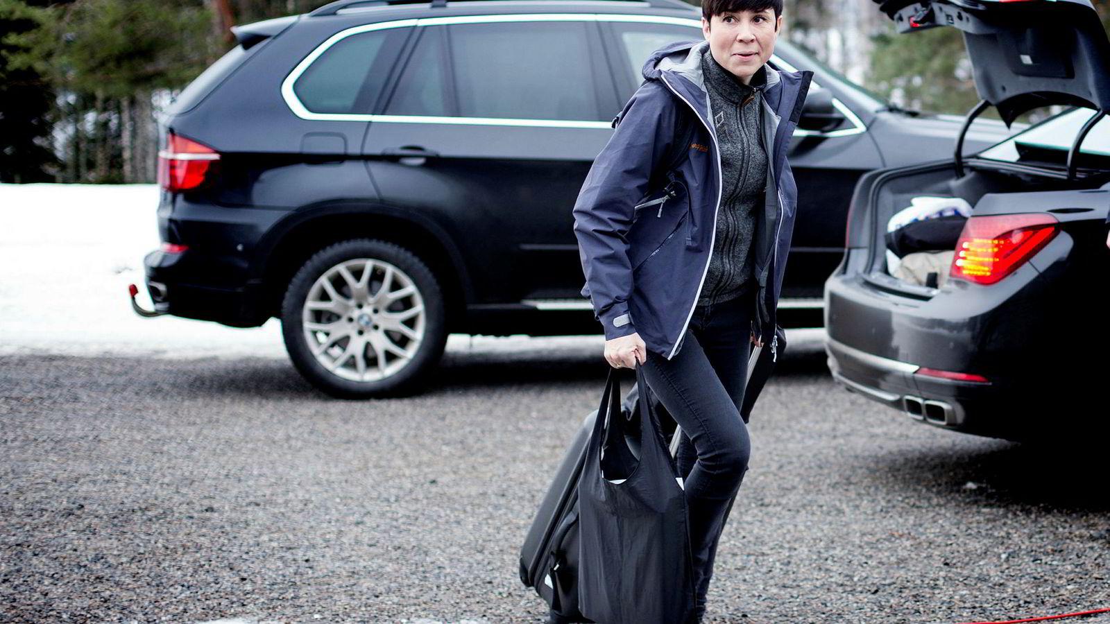 Forsvarsminister Ine Marie Eriksen Søreide ville endre innholdet i Riksrevisjonens sammendrag av kritikken av Forsvarsdepartementet