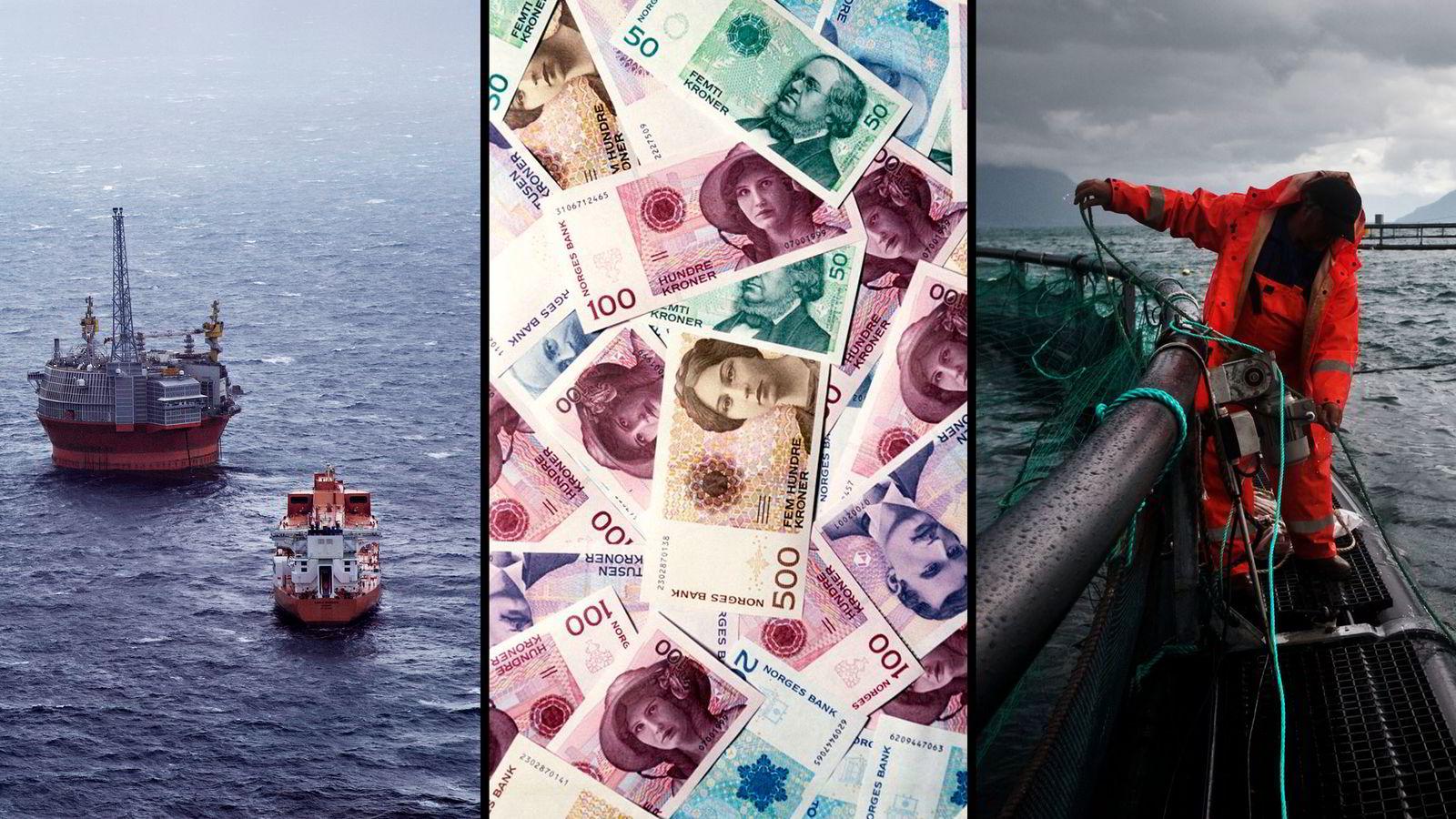 Onsdag legger DNB Markets frem sin halvårige rapport med ferske prognoser for utviklingen i norsk og global økonomi. Illustrasjonsbilde.