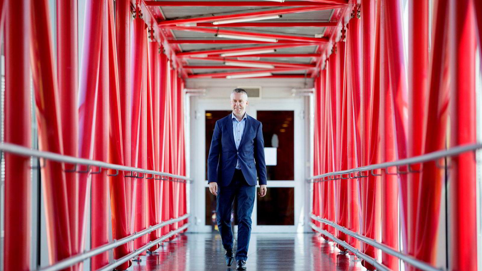 Administrerende direktør Stein Rømmerud i Coca-Cola Norge doblet resultatet i fjor sammenlignet med året før.