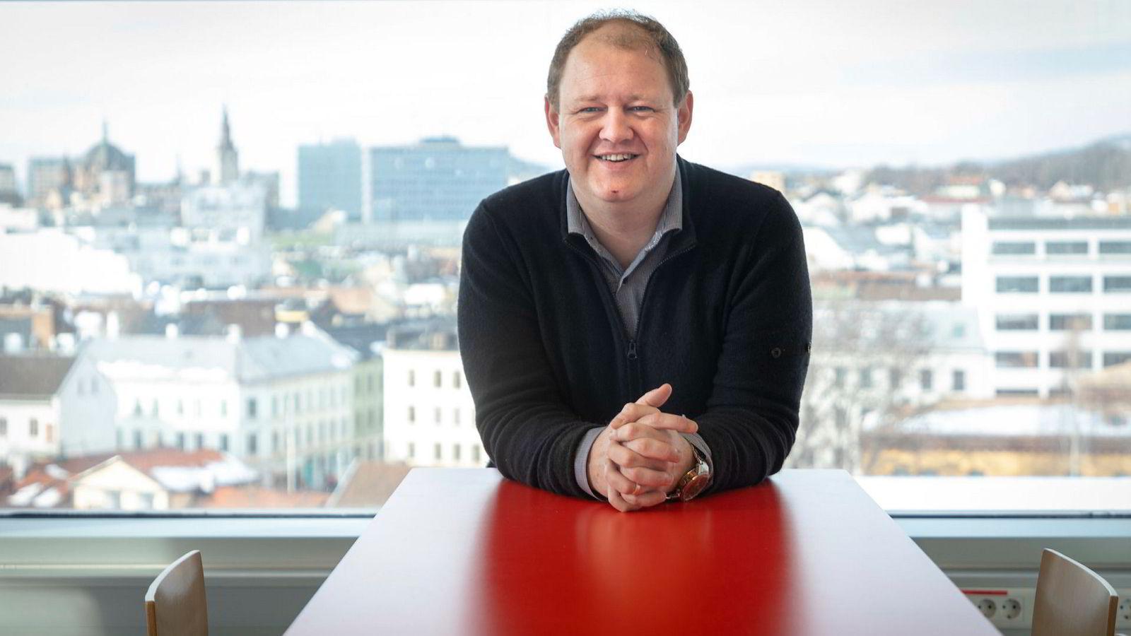 Hodejeger Erik Falk-Hansen er gjest i denne ukens «Mandagsmøtet».