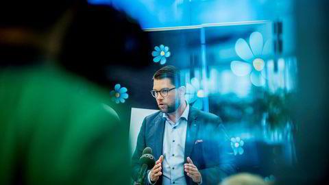 Jimmie Åkesson, lederen i Sverigedemokratene, har trukket fram en regjering med Moderaterna, SD og Kristdemokraterna som sitt foretrukne alternativ - men ingen av partene har hittil åpnet for samarbeid med Åkesson.