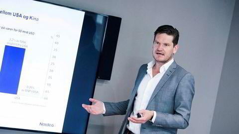 Kjetil Olsen, sjeføkonom i Nordea, mener det går svært bra med det norske arbeidsmarkedet og at Aku-tallene til SSB ikke er helt til å stole på.