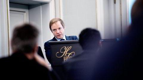 Dof-sjef Mons S. Aase.                   Foto: Per Ståle Bugjerde