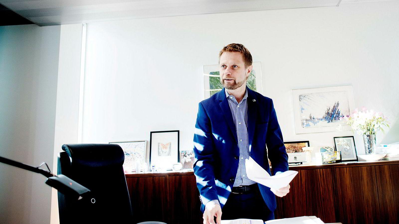 Helseminister Bent Høie vil formane sykehuslederne når han holder sin årlige sykehustale tirsdag.
