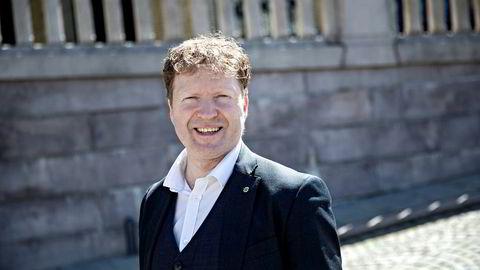 Senterpartiets finanspolitiske talsperson, Sigbjørn Gjelsvik