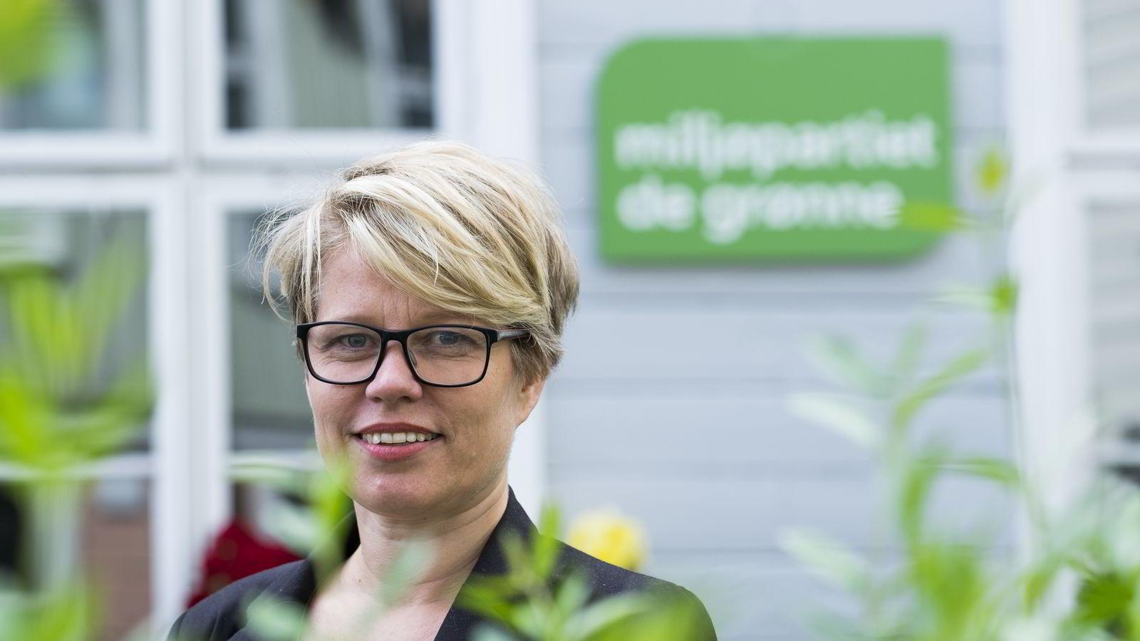 VALGT. Talsperson Hilde Opoku for Miljøpartiet De Grønne (MDG) er blitt varaordfører i Trondheim etter brakvalget mandag. Her er hun avbildet under Arendalsuka tidligere i sommer. Foto: Tor Erik Schrøder /