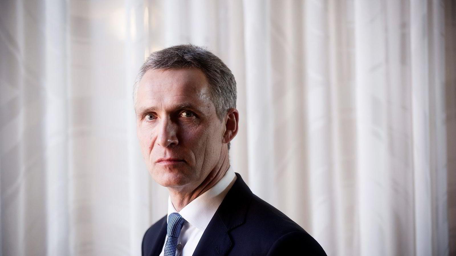 Nato-sjef Jens Stoltenberg. FOTO: Gorm K. Gaare