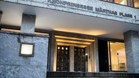 Her inne i bygningen på Kronprinsesse Märthas plass 1 i Oslo forvaltet Lars Eyolf Kvamsø og Øivind Ofstad mange millioner kroner for profesjonelle investorer gjennom selskapet Conscendo Asset Management.