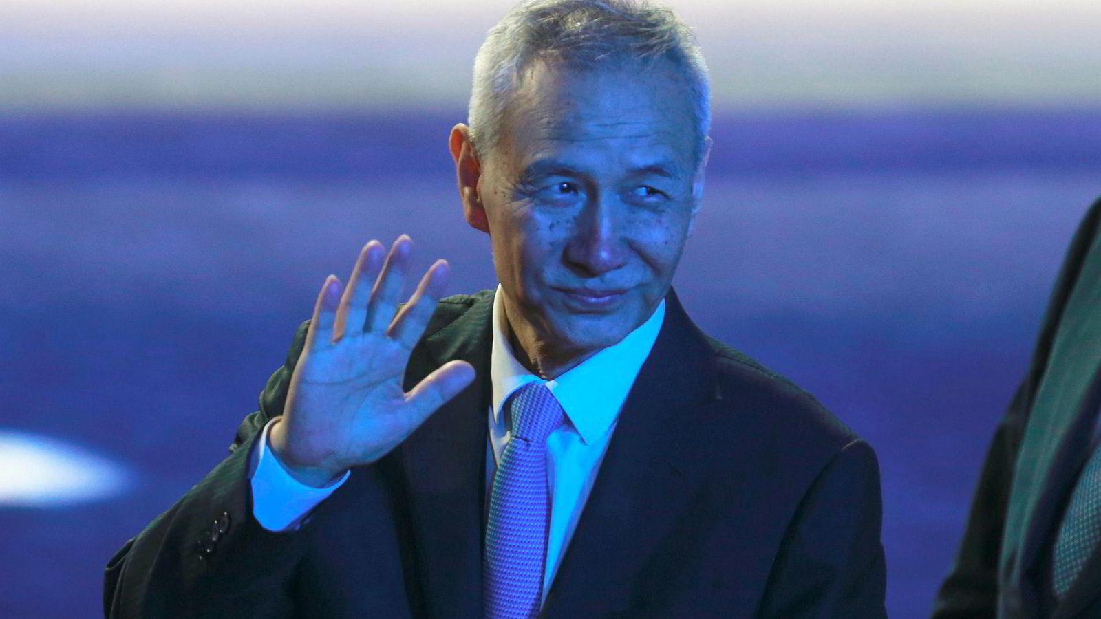 Kinas visestatsminister Liu He skal til USA for å fortsette handelssamtalene.
