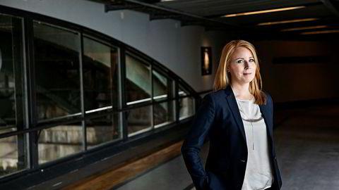 Centerpartiets partileder Annie Lööf er ikke fornøyd.