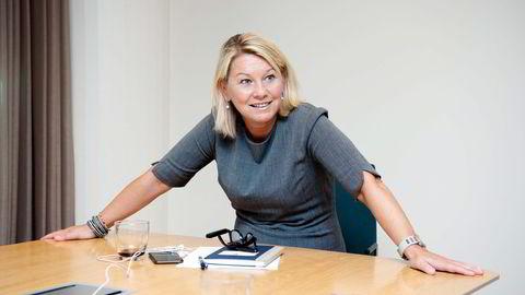 Næringsminister Monica Mæland (H) sier regjeringen kommer med forslaget fordi Investinor ikke har oppnådd målene sine. Intervju. Foto: Elin Høyland