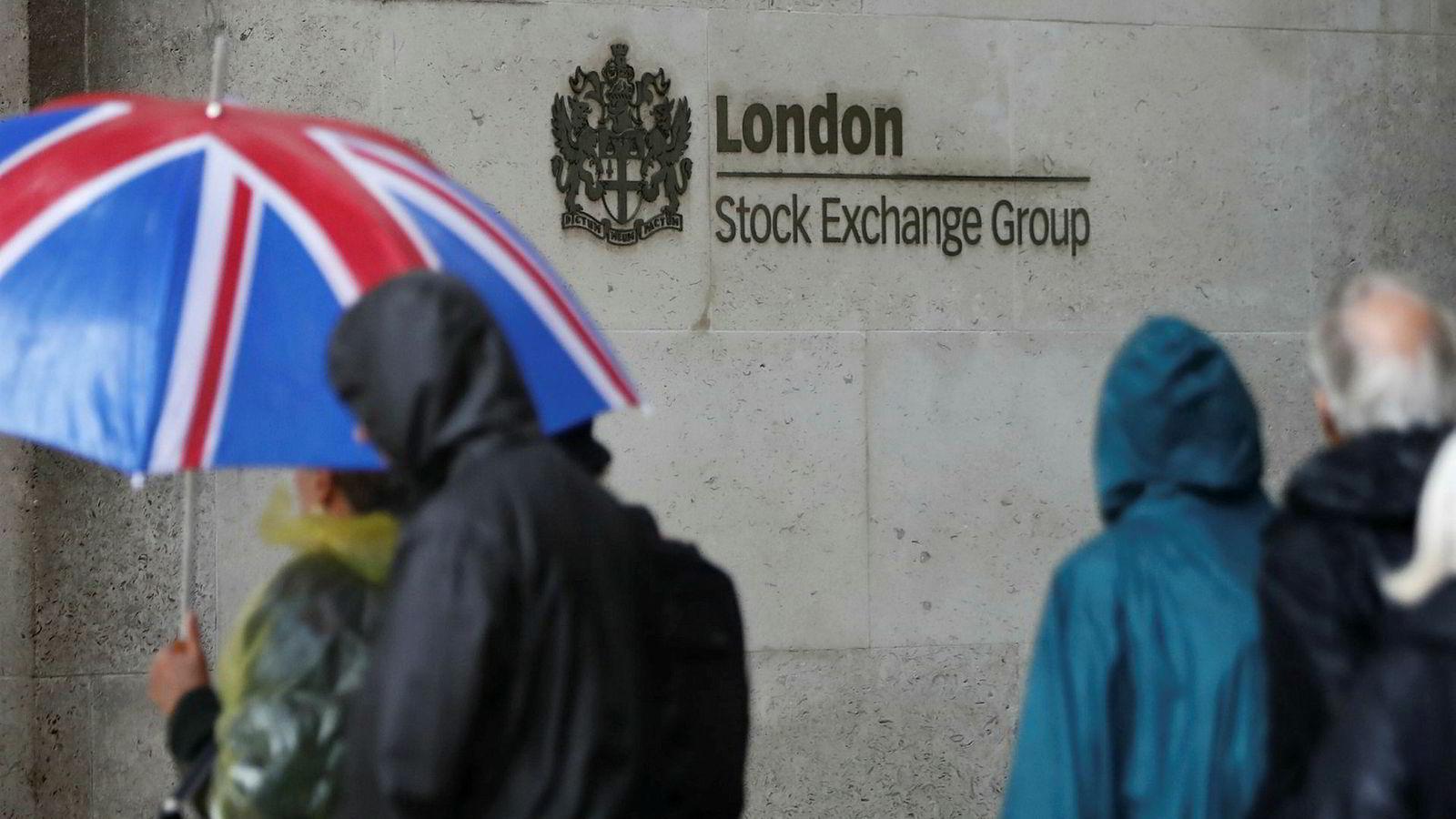 Investorene må være forberedt på uro og uvær på børsen i London i dagene og ukene fremover.