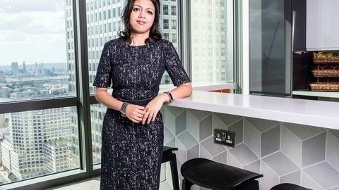 Oljeanalytiker Amrita Sen i Energy Aspects tror iransk oljeproduksjon vil falle kraftig i månedene som kommer.