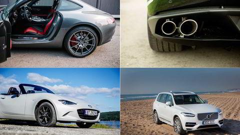 Årets beste biler. Foto: Fartein Rudjord/Øyvind Elvsborg/Thomas Haugersveen/Embret Sæter
