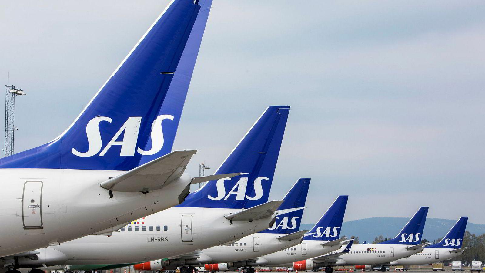 SAS regner med å være i rute igjen lørdag   DN