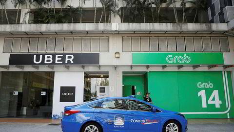 Uber gir opp og overlater virksomheten i Sørøst-Asia til konkurrenten Grab. Japanske Softbank, som har eierposter i de største transportdelingstjenestene i verden, står bak konsolidering og nye strategier.