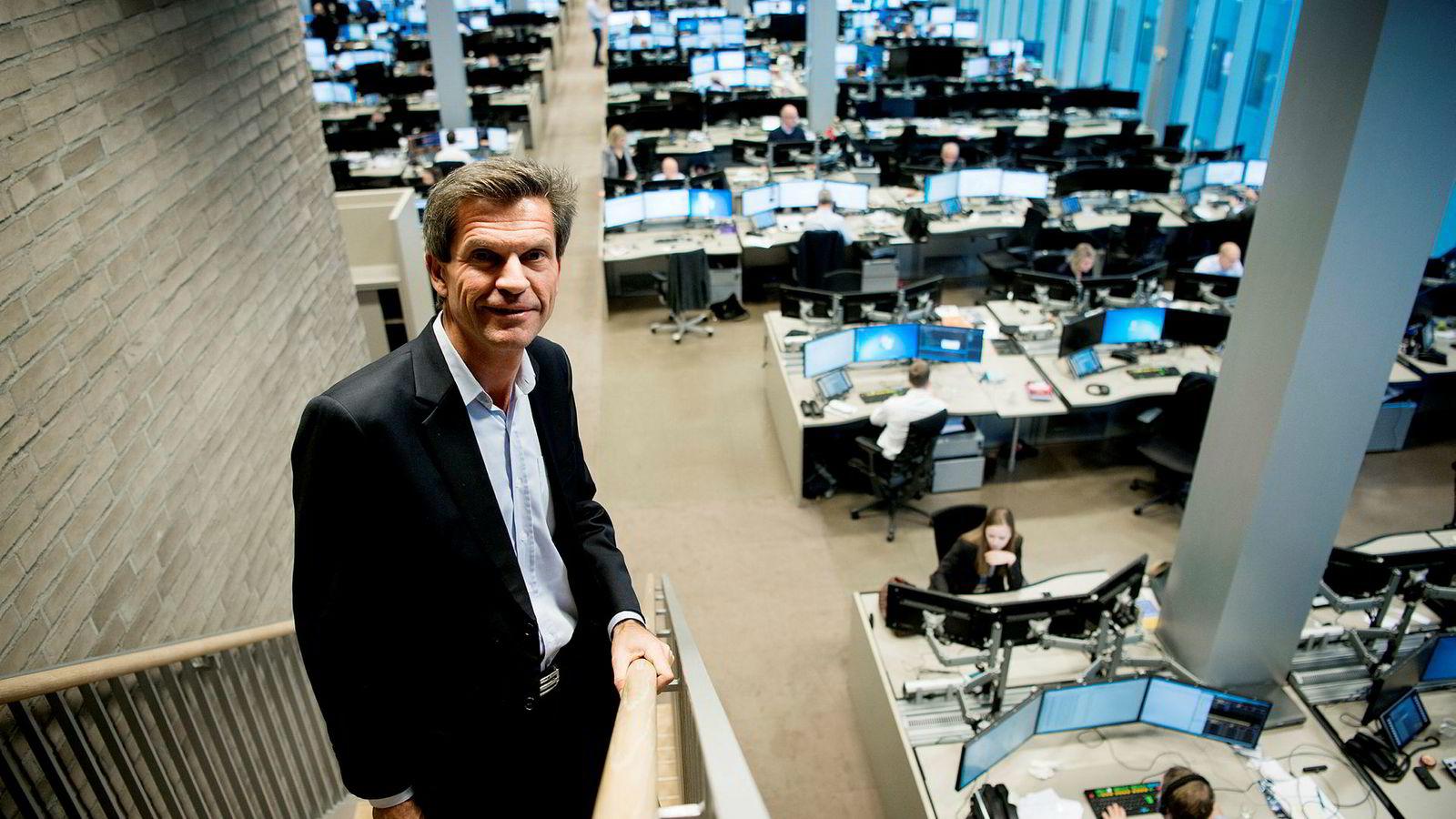Sjef for DNB Markets, Ottar Ertzeid, sier at DNB lenge har jobbet aktivt for å få flere kvinner opp og frem, men at banken fortsatt har en vei å gå.
