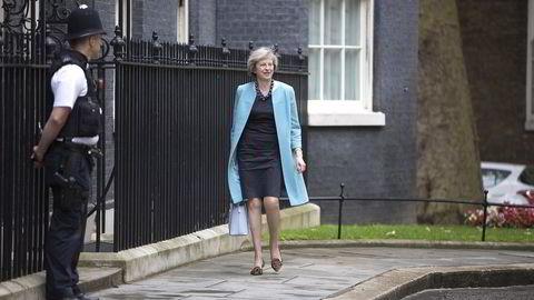50 prosent av britene mener statsminister Theresa May og regjeringen har håndtert brexit på en dårlig måte, viser målingen YouGov har utført for The Times. Foto: Jeff Gilbert