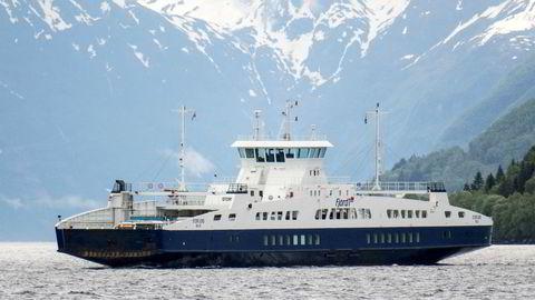Fergen MF Storfjord på sambandet Festøya - Solavågen på E39 i Møre og Romsdal.