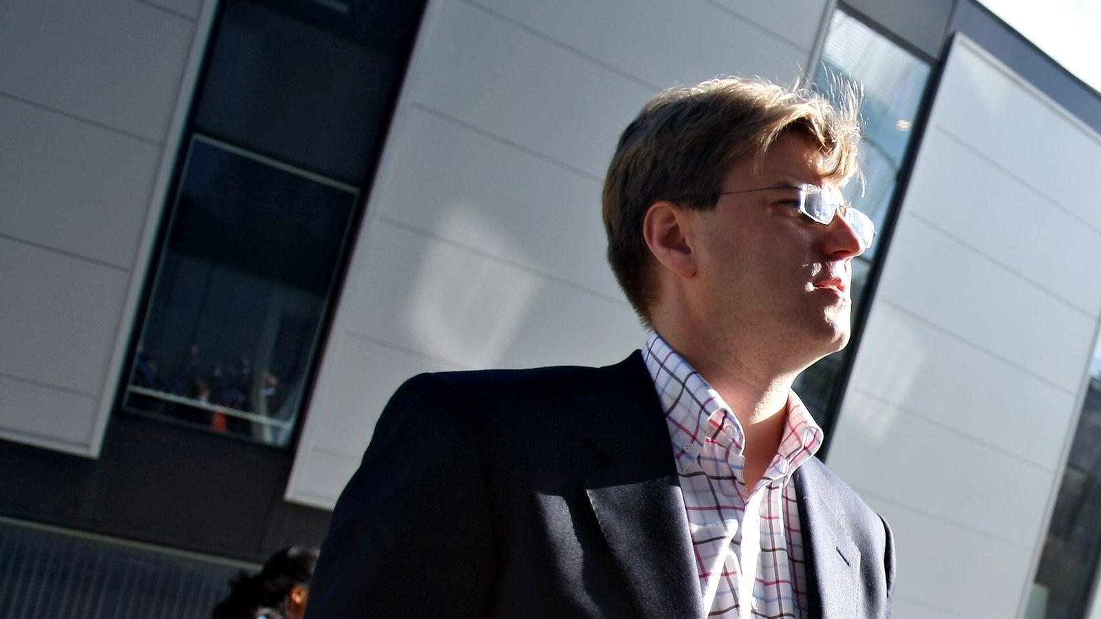 Administrerende direktør Tommy Sundt i Noreco.