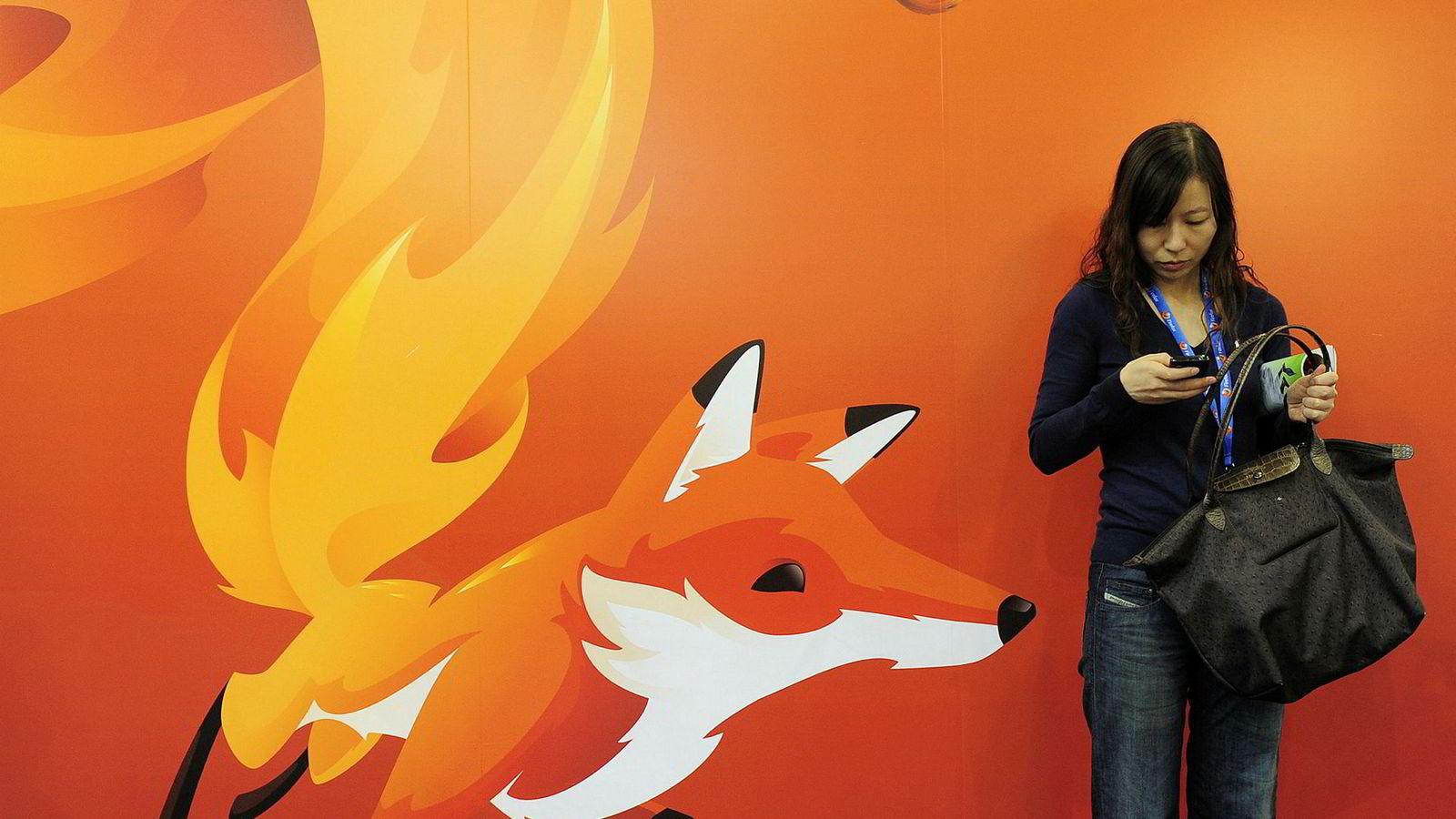 Nettleseren Firefox er en sterk konkurrent til Googles Chrome.