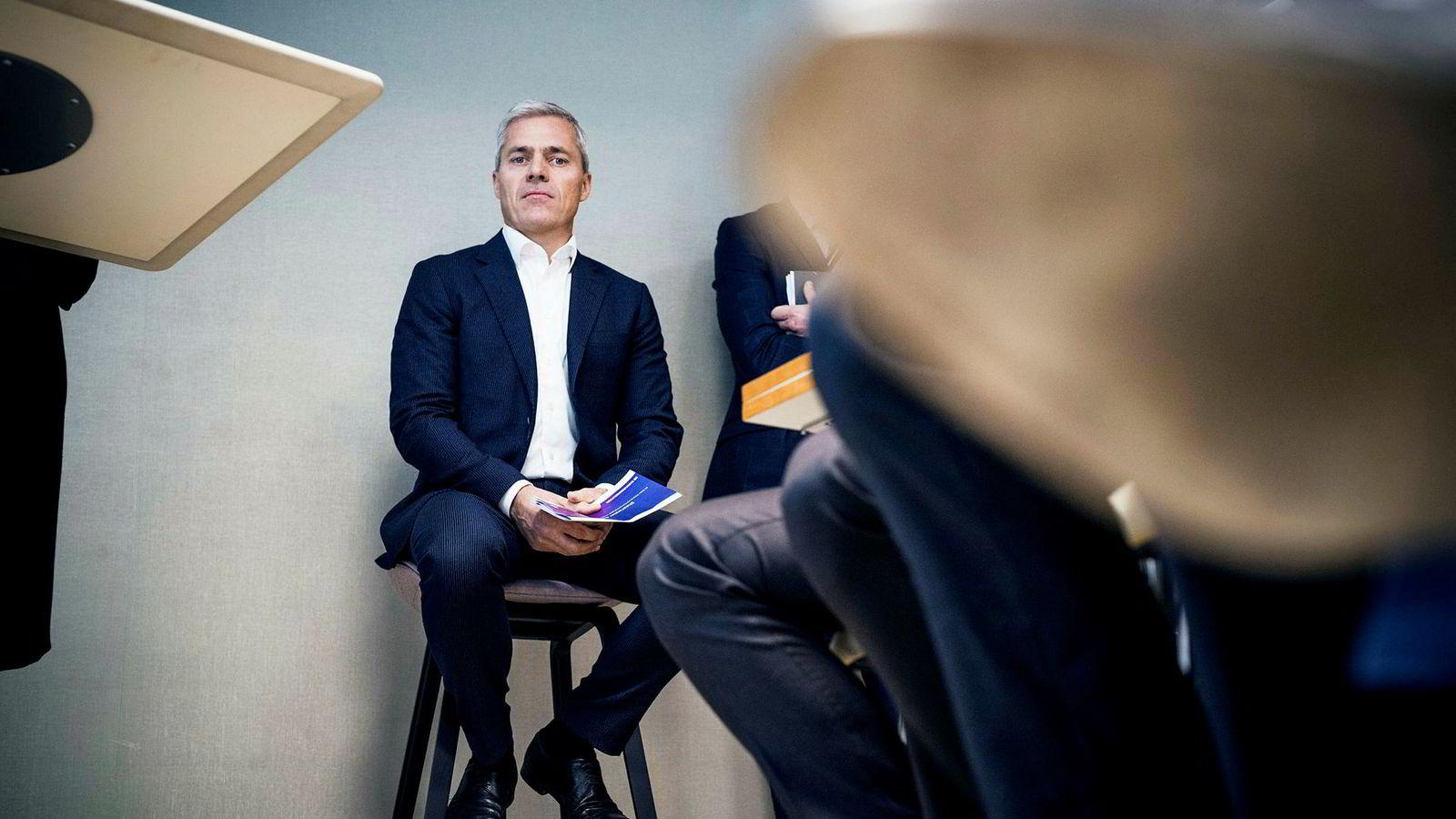 Toppsjef Dag Rasmussen i Rasmussengruppen gikk på en børssmell i 2018.