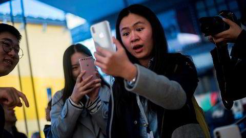 Kina er det viktigste internasjonale markedet for Apple. Statskontrollerte aviser oppfordrer myndighetene til å spille «hardball» og ramme amerikanske selskaper som er avhengig av det kinesiske markedet.