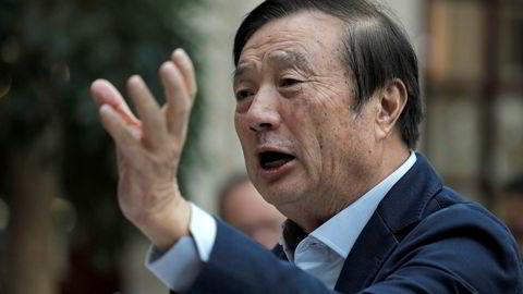 Ren Zhengfei, Huaweis grunnlegger, avviser lyssky virksomhet i selskapet.