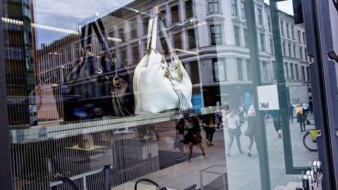 Michael Kors har ingen egne butikker igjen i Norge. Bildet er fra butikken som lå på Karl Johans gate i Oslo.