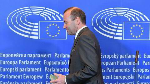 Den tyske politikeren Manfred Weber lanserer seg seg kandidat til å bli EU-kommisjonens neste president.