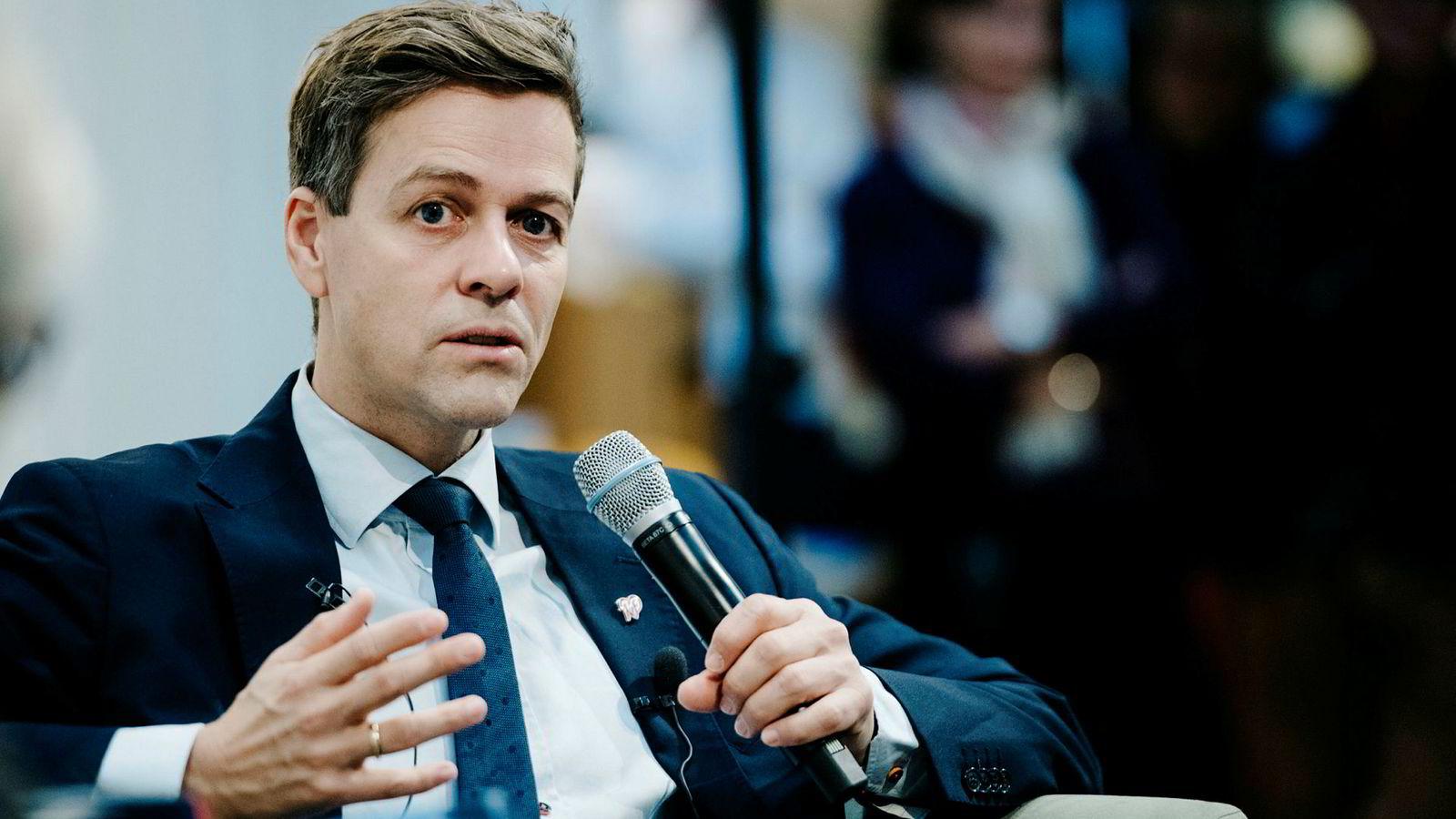 KrF-leder Knut Arild Hareide kan gjøre sikkerhet og forsvar til en farlig sak for regjeringen.