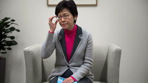 Hongkongs politiske leder Carrie Lam vil trekke tilbake omstridt lovforslag.