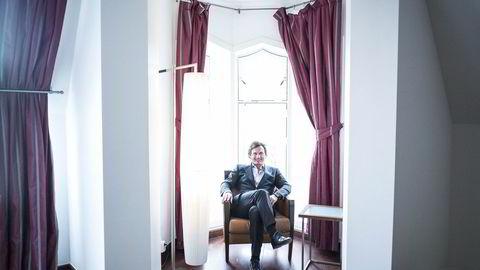 - Dette er den kontrakten det har vært størst kamp om i det norske hotellmarkedet noensinne, sier Petter Stordalen om hotellkontrakten i Bjørvika. Foto: Gunnar Blöndal
