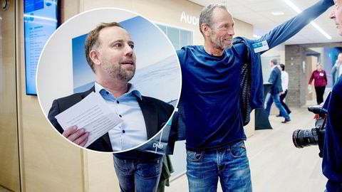 Christian Vammervold Dreyer (innfelt) slutter i Eiendom Norge for å jobbe for eiendomsmilliardær Ivar Tollefsen.