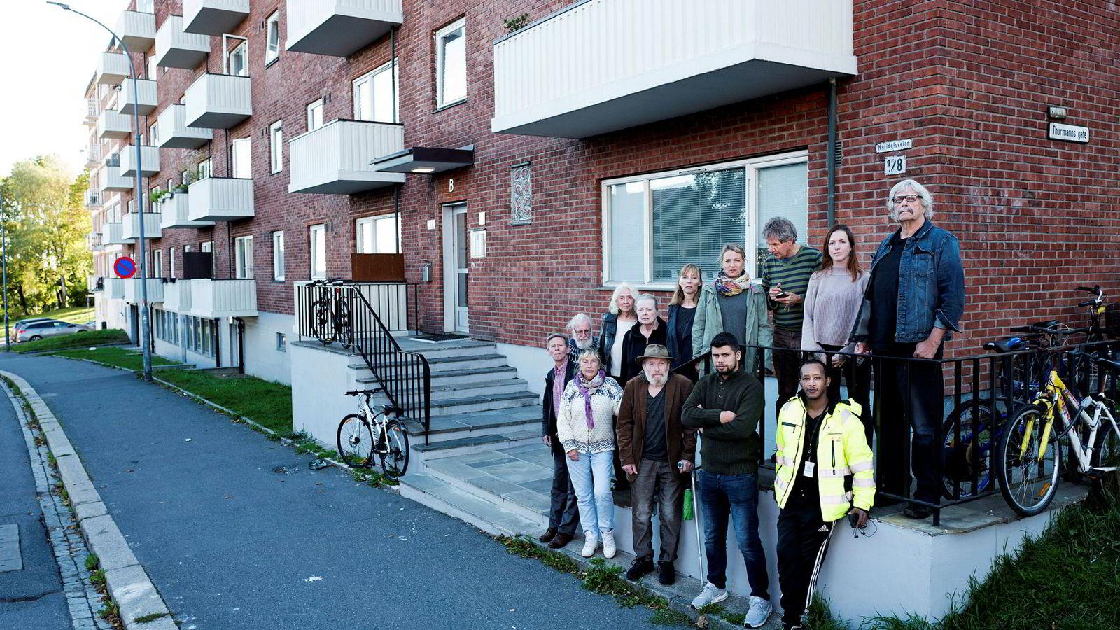 Da Ivar Tollefsen kjøpte Maridalsveien 128 på Sagene, mobiliserte beboerne alt de hadde for å kjøpe leilighetene sine på forkjøp.